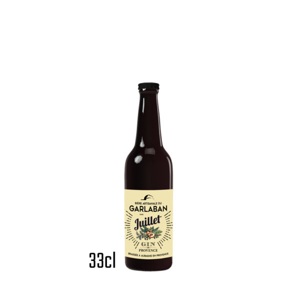 Bière du Garlaban au Gin Juillet